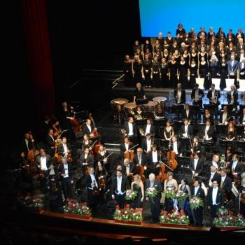 Beethovens Neunte Applaus