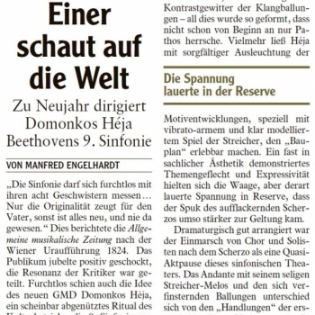 Kritik Beethovens Neunte