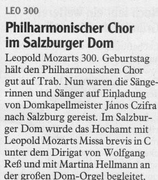 Salzburg-Bericht