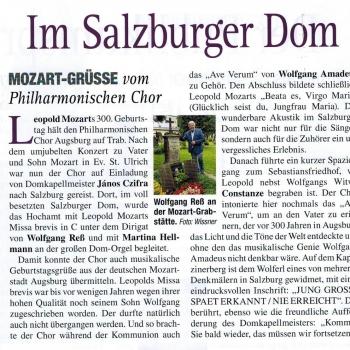 Bericht Salzburg-Fahrt