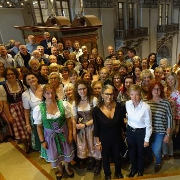 Orgelempore im Salzburger Dom