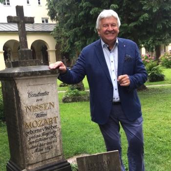 Reß und die Mozart - Grabstätte